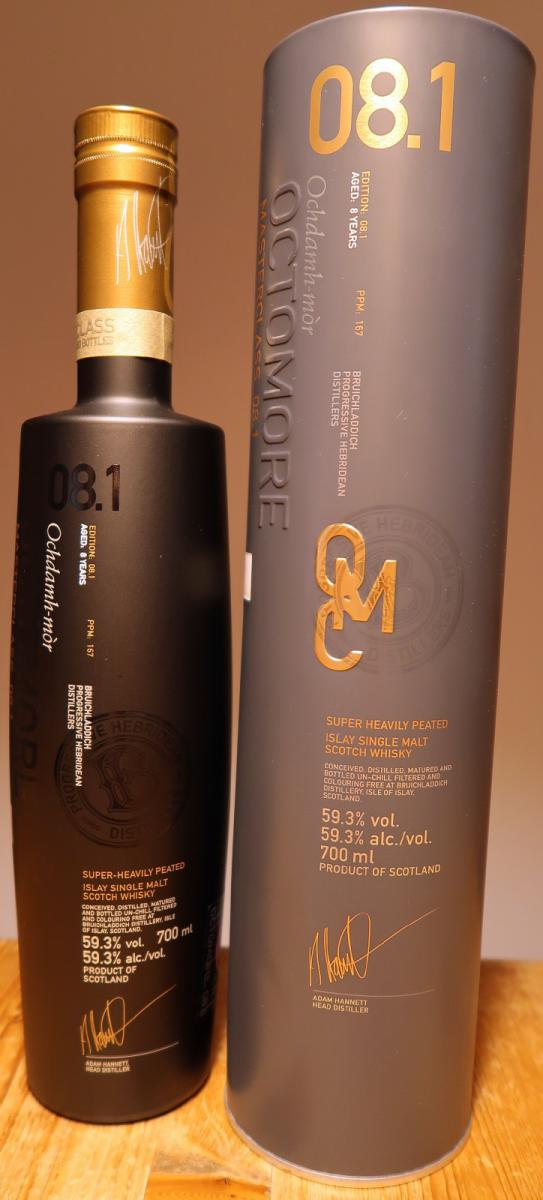 Octomore Masterclass_08.1 / 167 PPM
