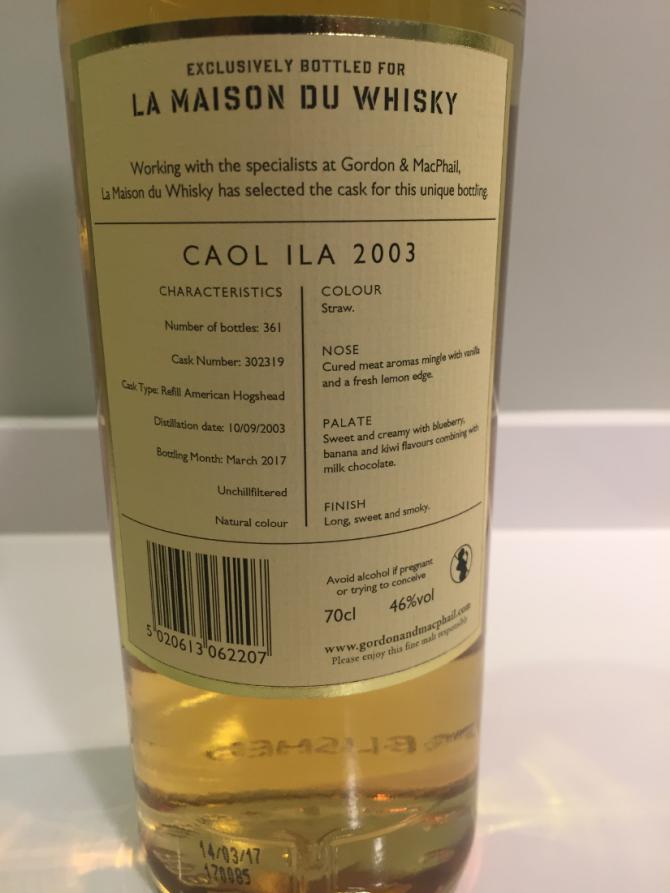 Caol Ila 2003 GM