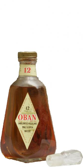 Oban 12-year-old - Unblended Highland Malt