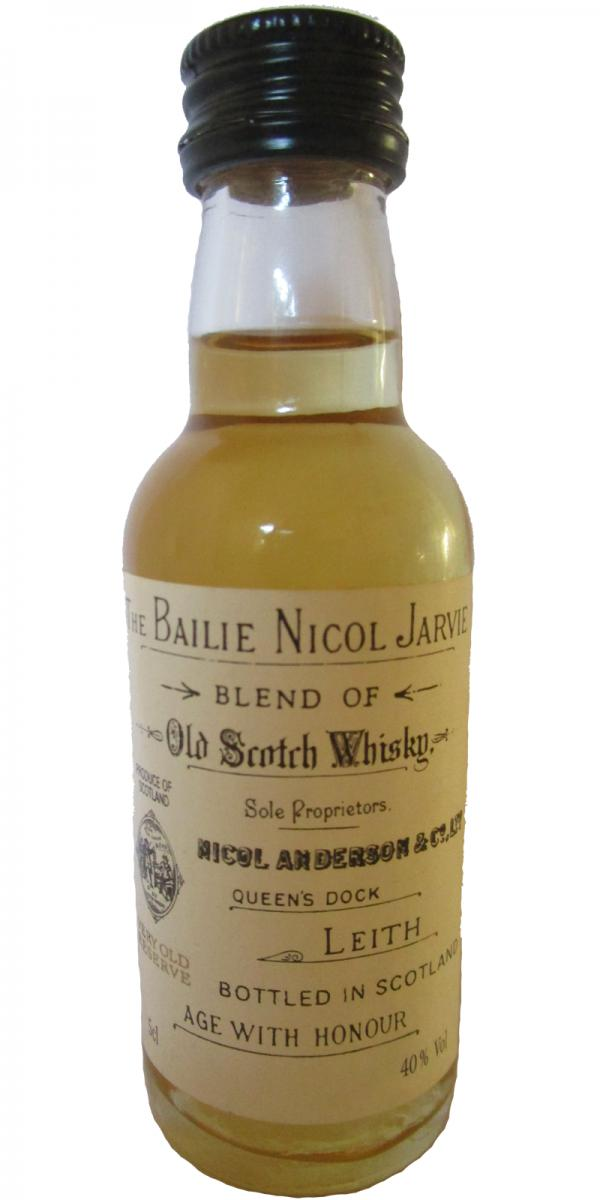 The Bailie Nicol Jarvie Age With Honour