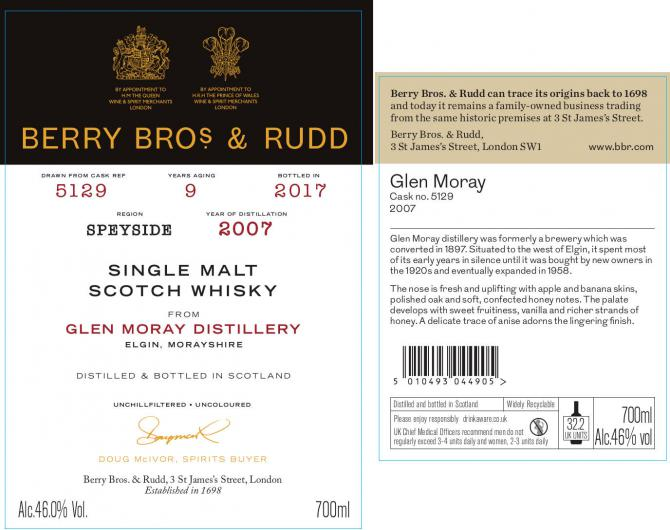 Glen Moray 2007 BR