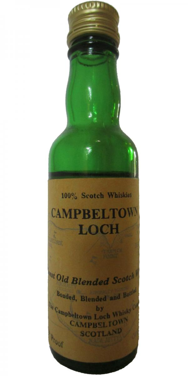 Campbeltown Loch Finest Old Blended Scotch Whisky