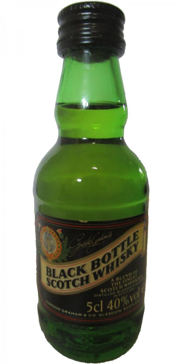 Black Bottle A Blend of the Finest Scotch Whiskies