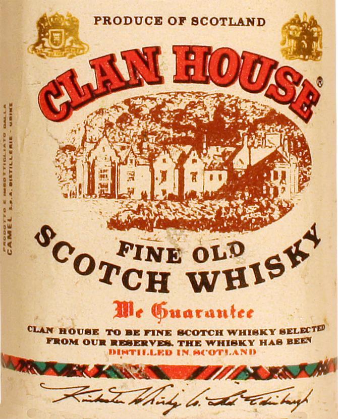 Clan House Fine Old Scotch Whisky