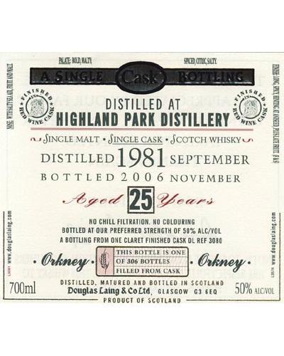 Highland Park 1981 DL