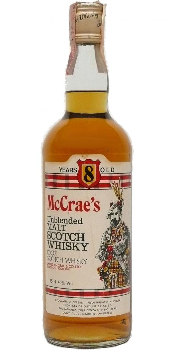 McCrae's 08-year-old
