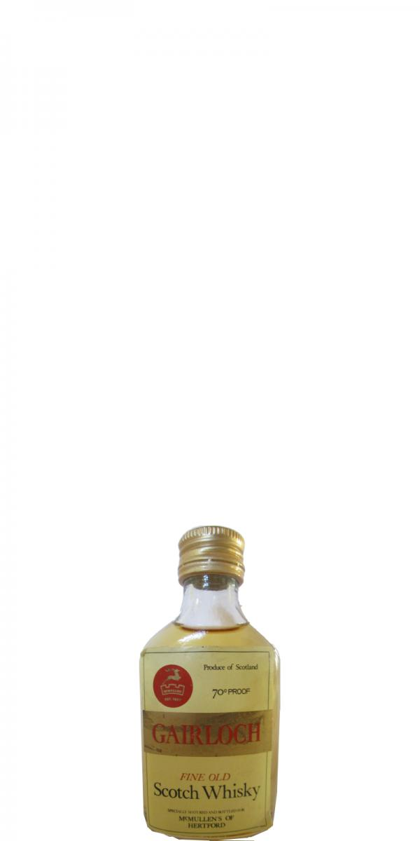 Gairloch Fine Old Scotch Whisky