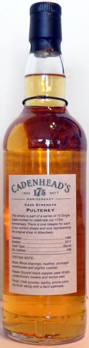 Old Pulteney 1990 CA