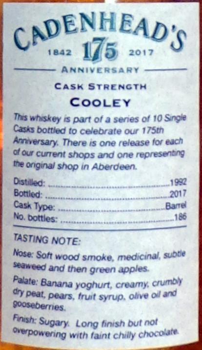 Cooley 1992 CA