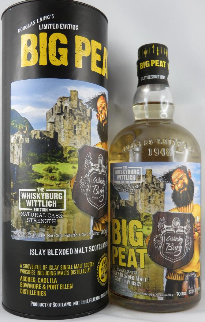 Big Peat The Whiskyburg Wittlich Edition DL