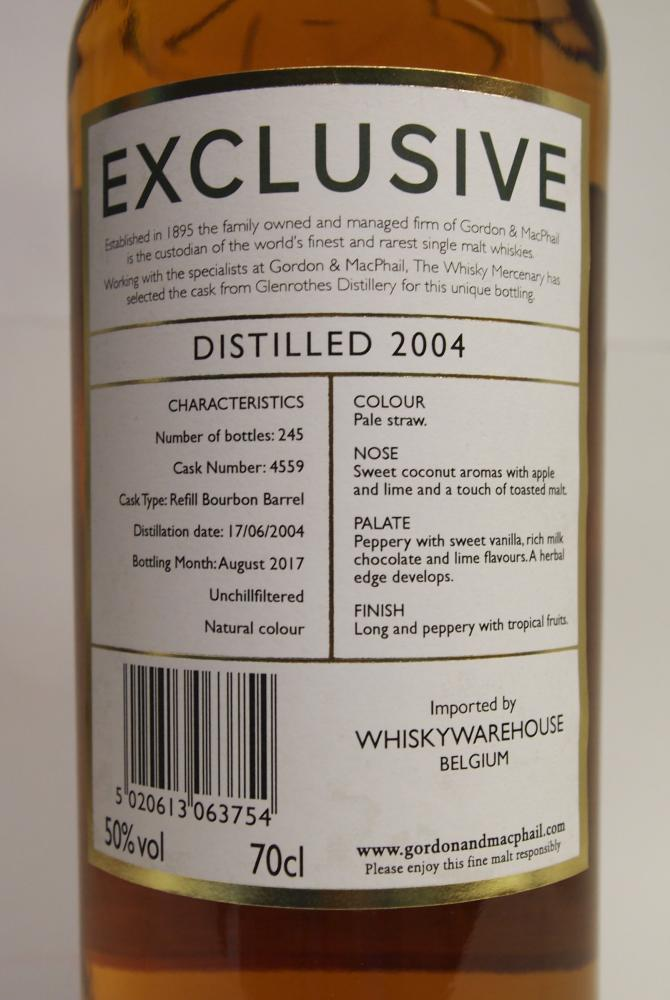 Glenrothes 2004 GM