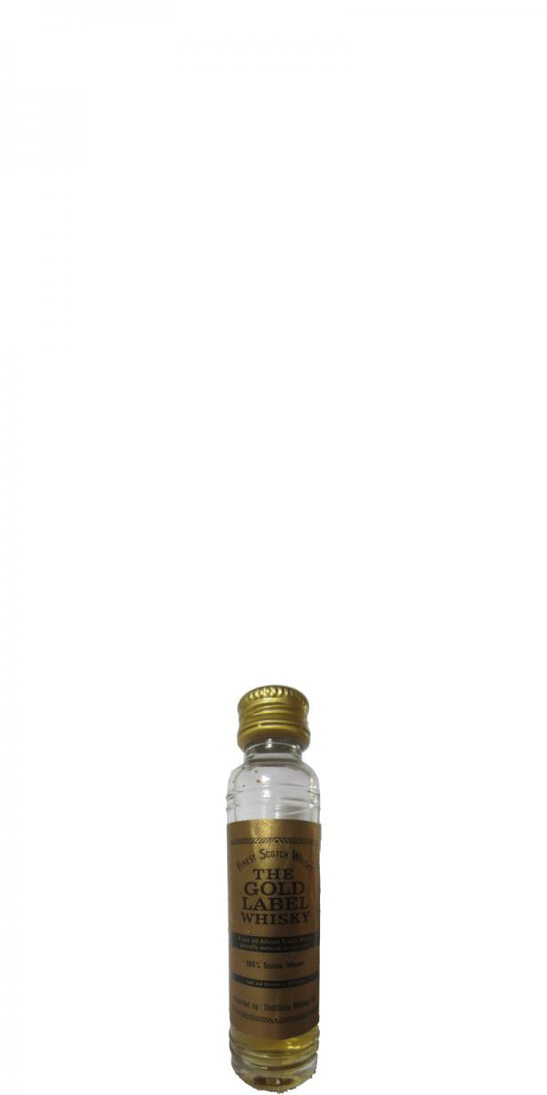 The Gold Label Whisky Finest Scotch Whisky