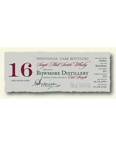 Bowmore 1990 DR