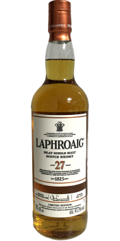 Laphroaig 27-year-old
