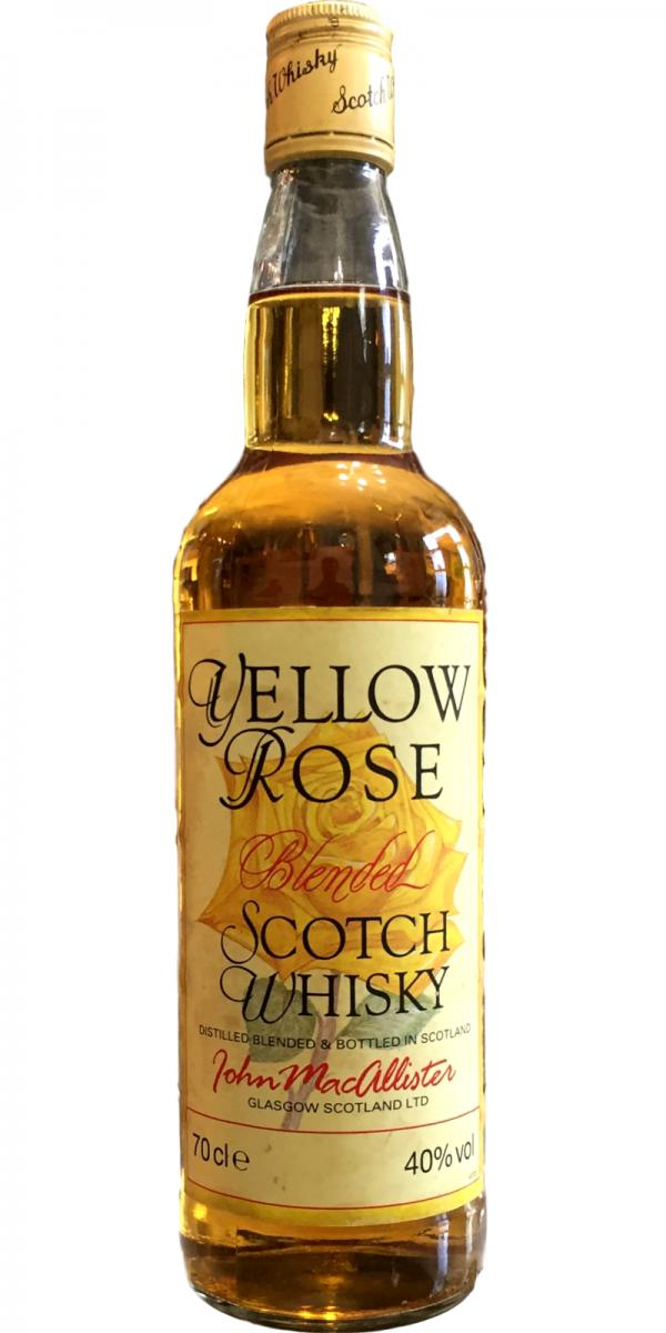 Yellow Rose Blended Scotch Whisky