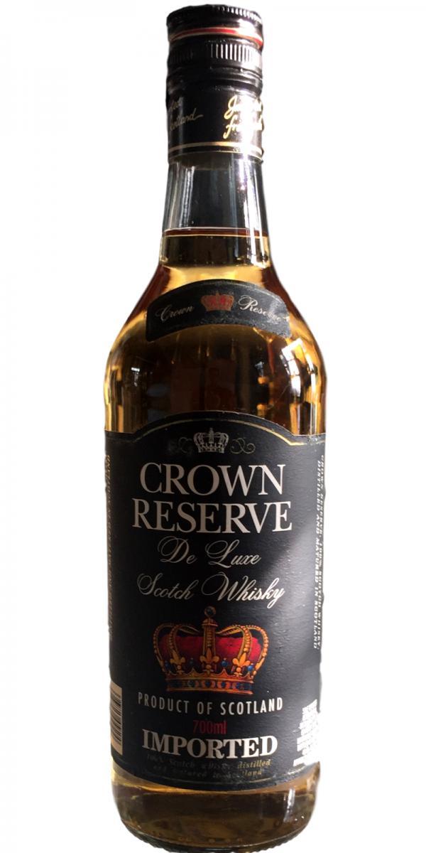 Crown Reserve De Luxe Scotch Whisky