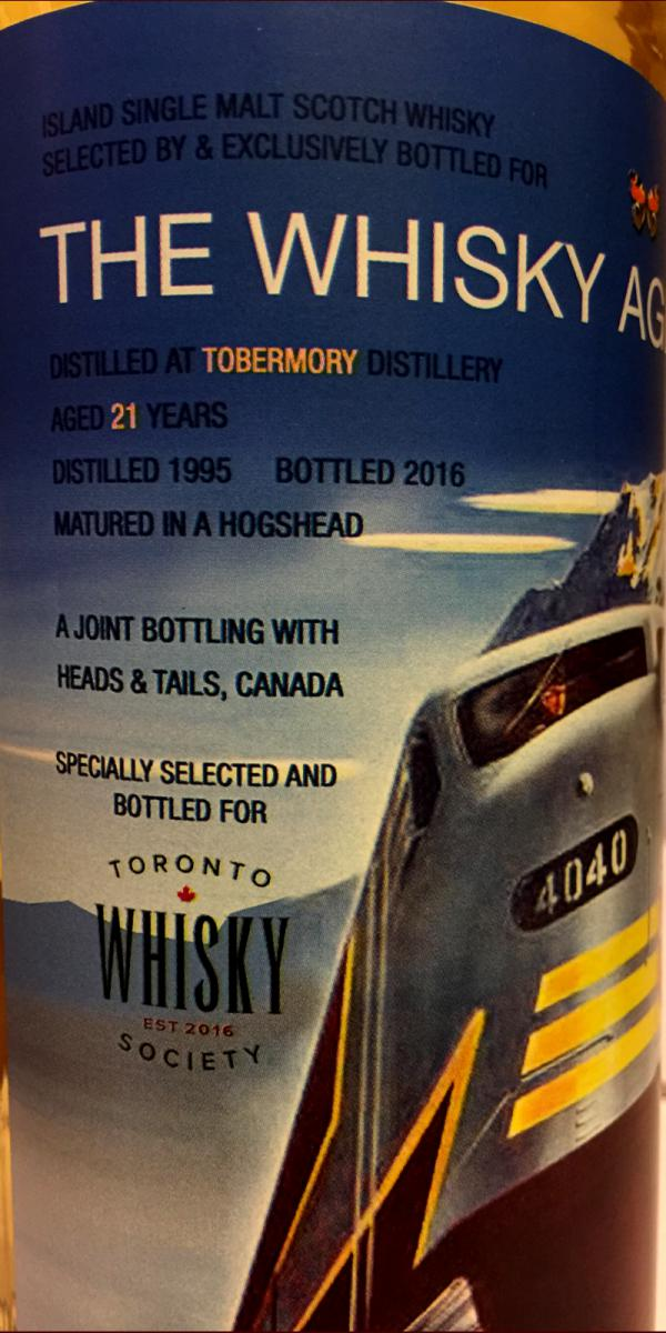 Tobermory 1995 TWA