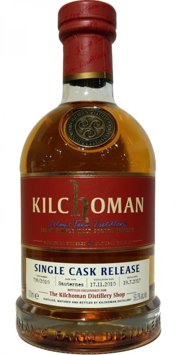Kilchoman 2010