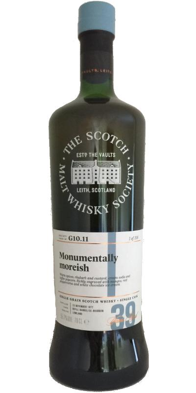 Strathclyde 1977 SMWS G10.11