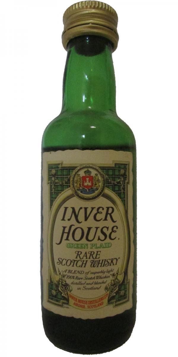 Inver House Green Plaid