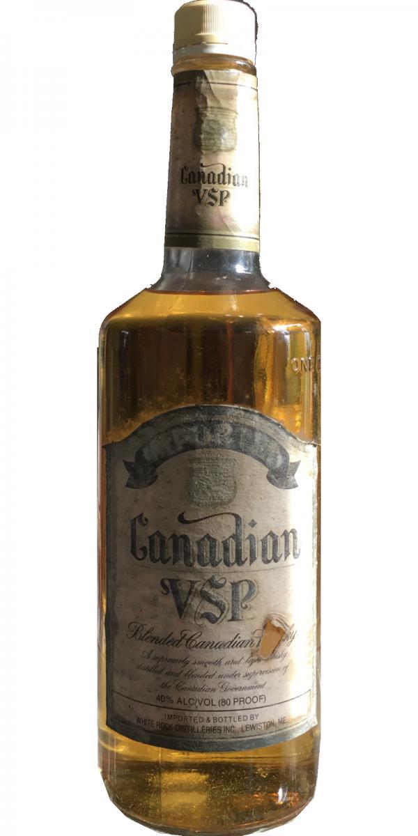 Canadian VSP Blended Canadian Whisky