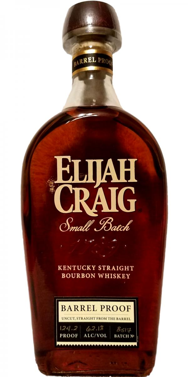 Elijah Craig Barrel Proof - Release #14