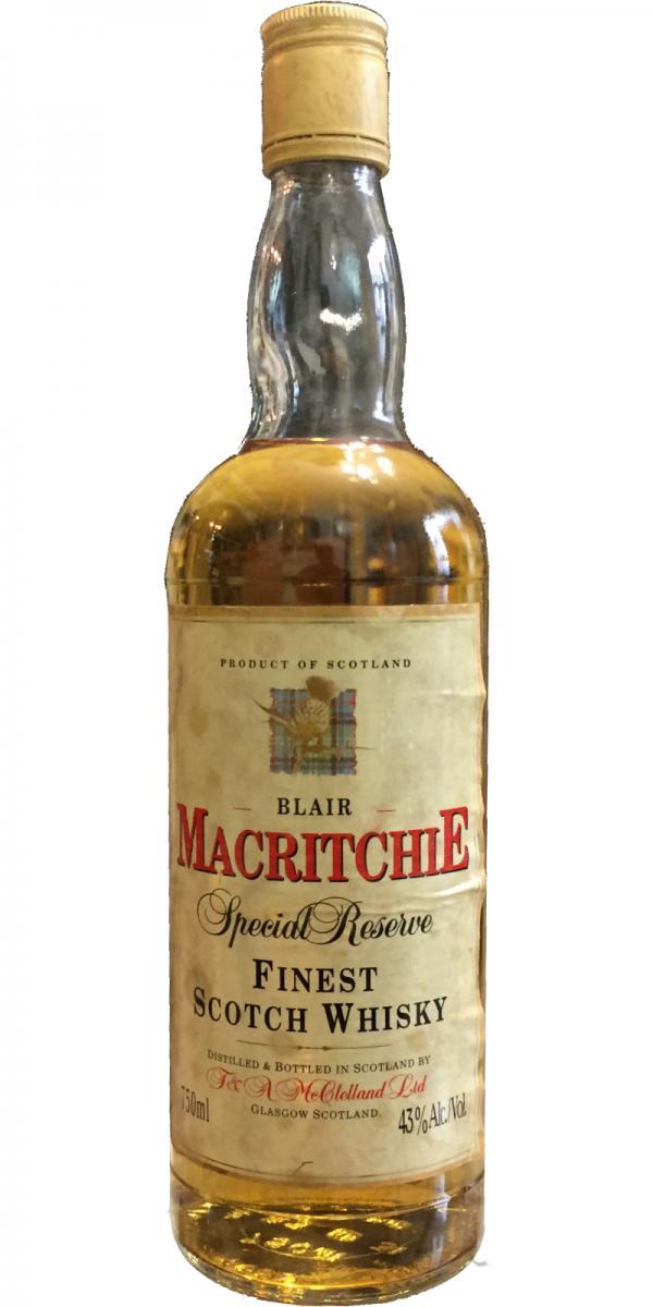 Blair Macritchie Special Reserve