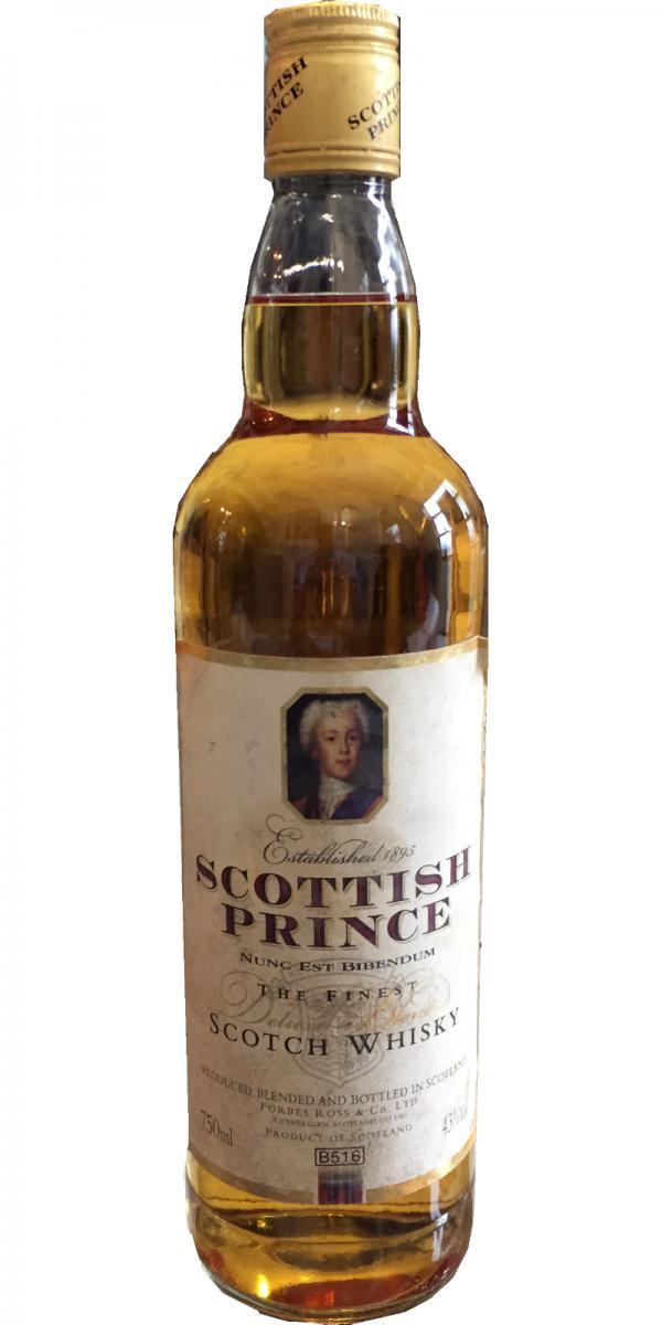 Scottish Prince The Finest Scotch Whisky