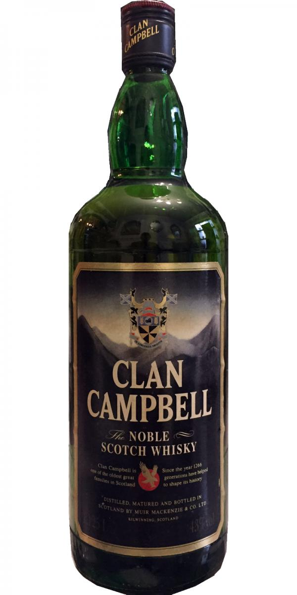 Clan Campbell The Noble Scotch Whisky - Ratings and