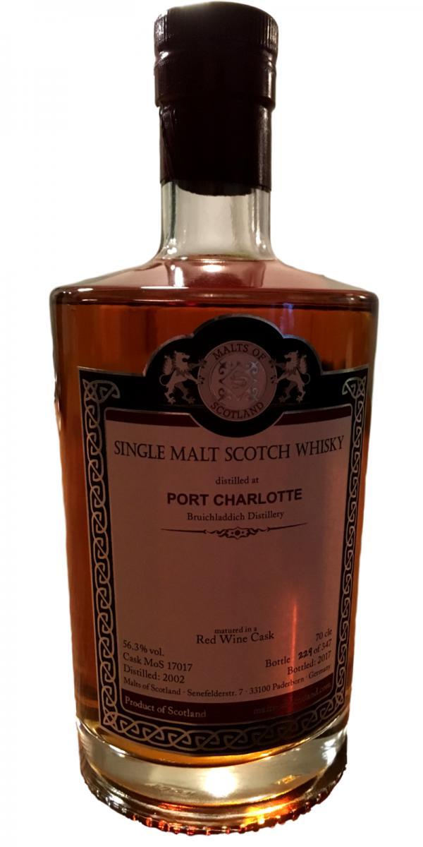 Port Charlotte 2002 MoS