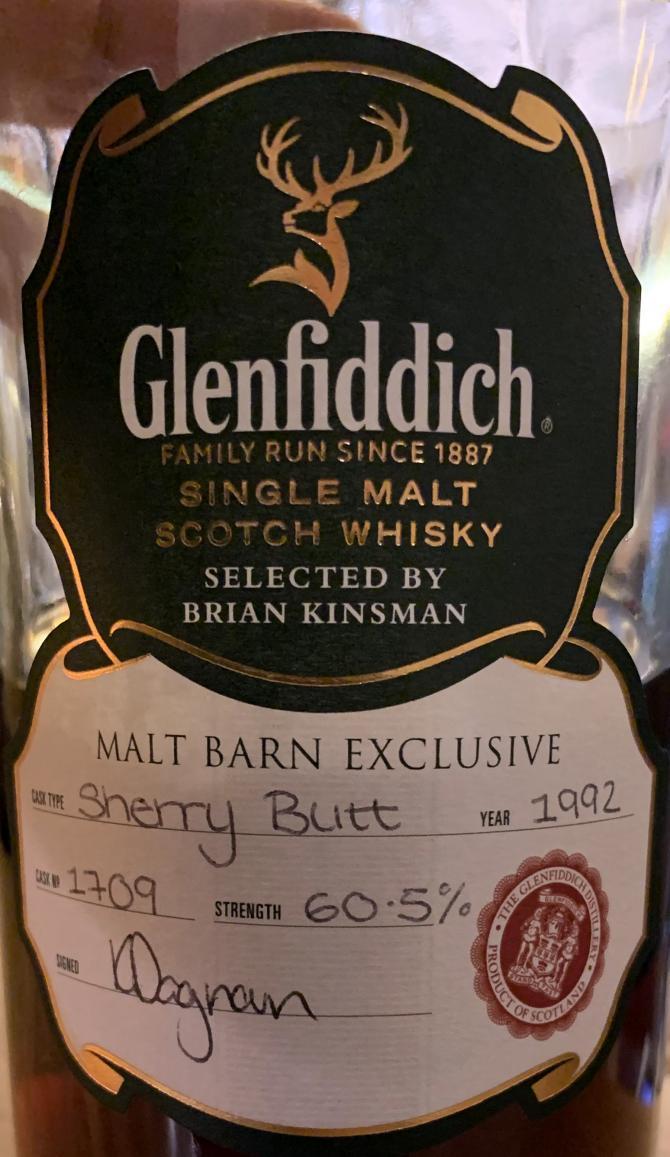 Glenfiddich 1992