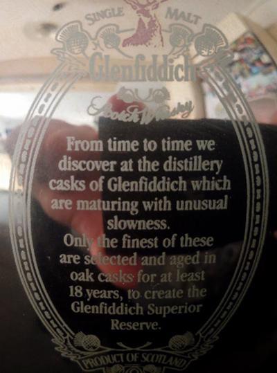 Glenfiddich Superior Reserve
